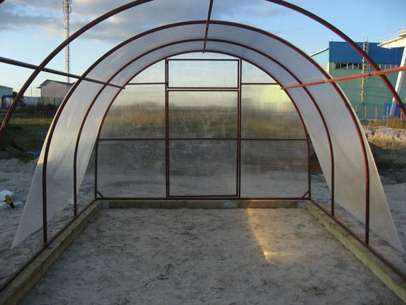 поликарбонат для дачной теплицы