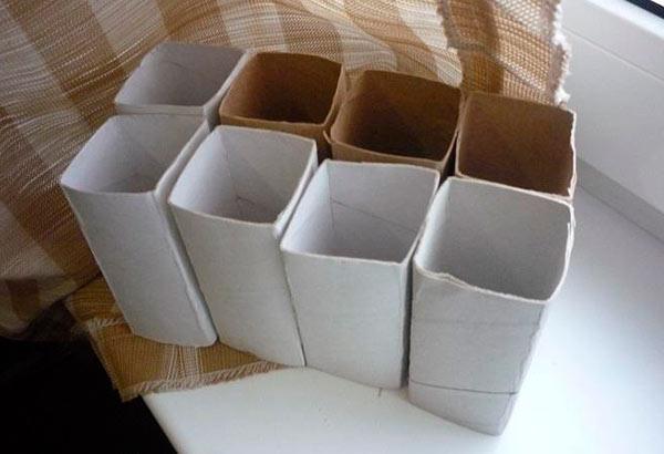 Стаканчики для рассады из картона