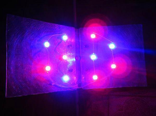 Готовая фитолампа из светодиодов