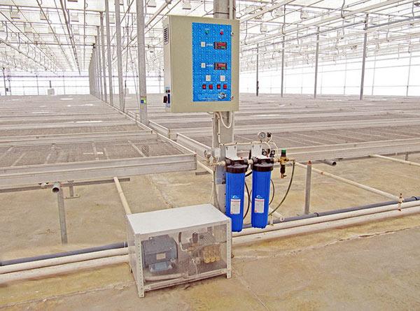 Промышленный туманообразователь для теплицы