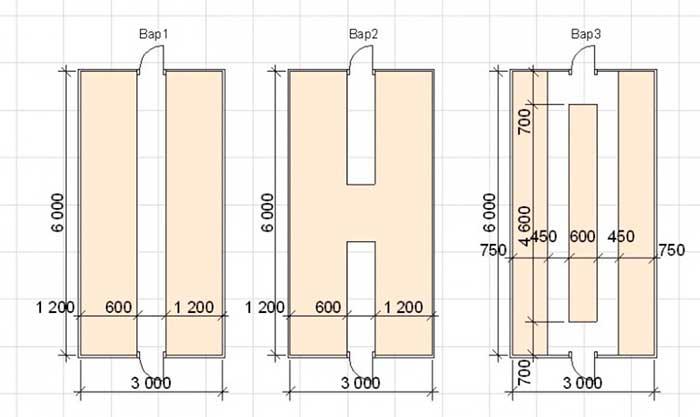 Размеры грядок в теплице из поликарбоната