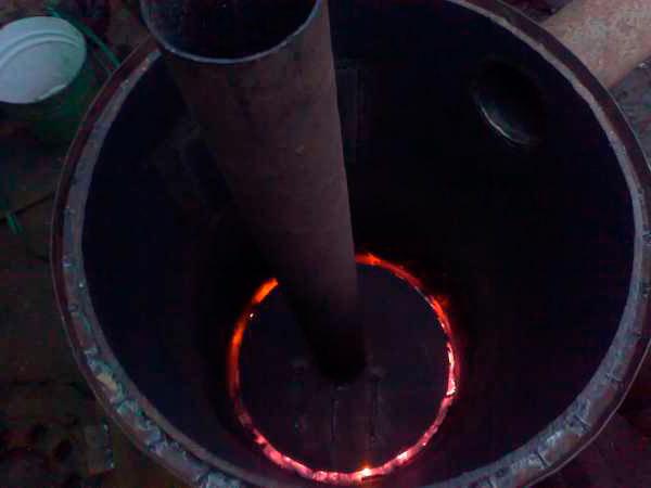 Работающая печь Бубафоня