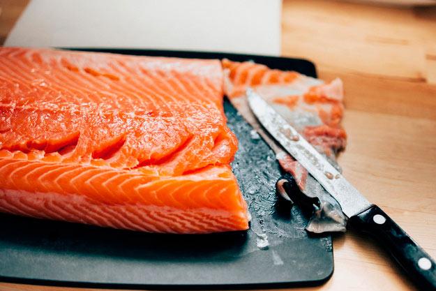 Подготовка рыбы к засолу