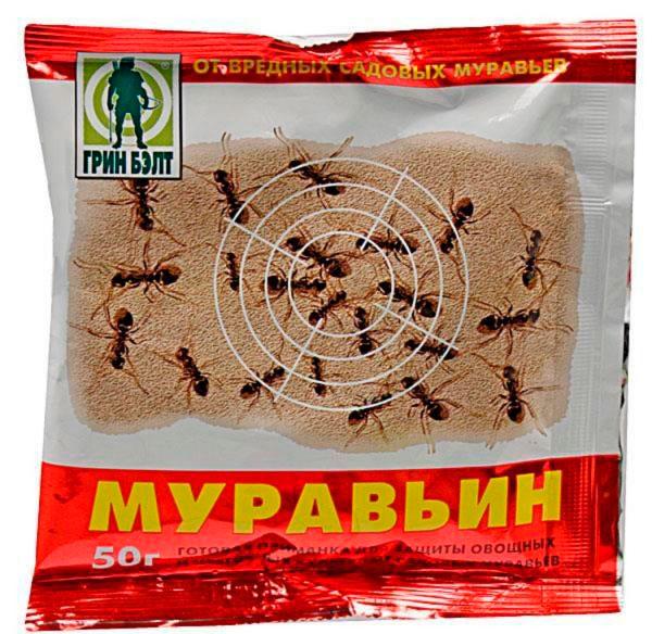 Химическое средство для борьбы с муравьями