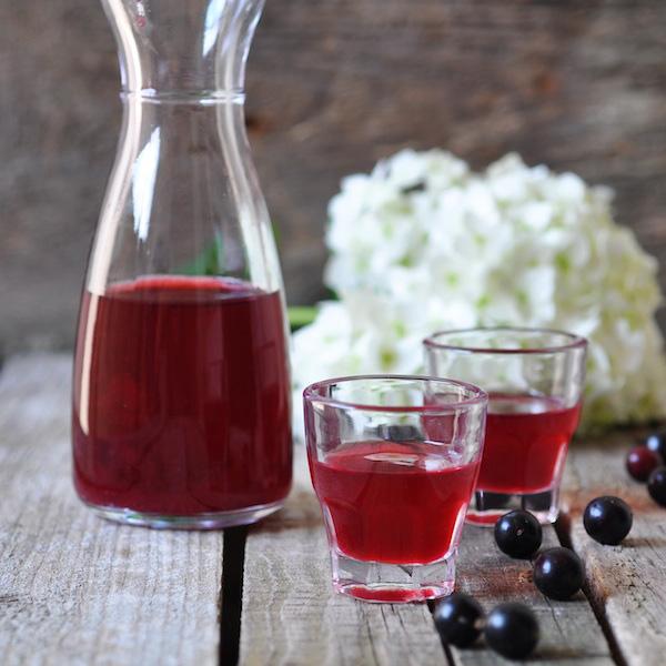 Настойки из ягод на спирту